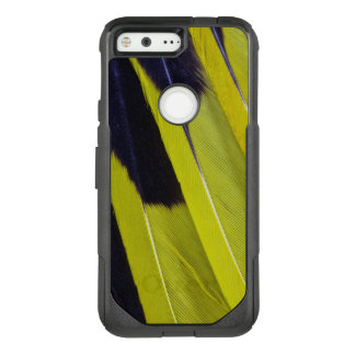 Yellow And Black Feather Abstract OtterBox Commuter Google Pixel Case