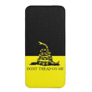 Yellow and Black Gadsden Flag