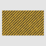 Yellow and Black Hazard Stripes Texture