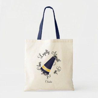 Yellow and Blue Spirit Tote Bag