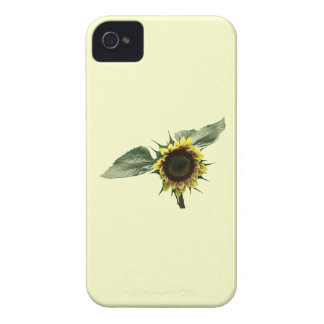 Yellow and Brown Sunflower Case-Mate iPhone 4 Case