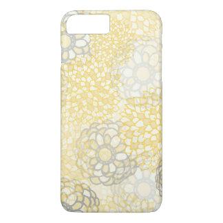 Yellow and Clay Flower Burst Design iPhone 8 Plus/7 Plus Case