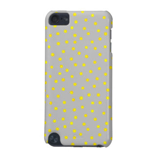 Yellow And Gray Confetti Dots iPod Touch (5th Generation) Covers