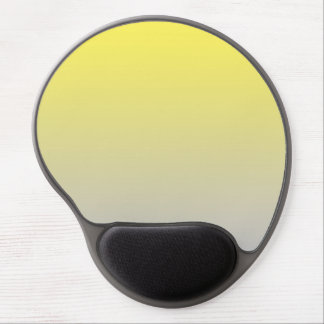 """""""Yellow And Gray Ombre"""" Gel Mouse Pad"""