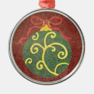Yellow and Green - Christmas Tree Ornament