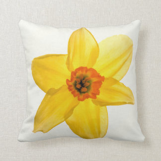 Yellow and orange daff.cushion cushion