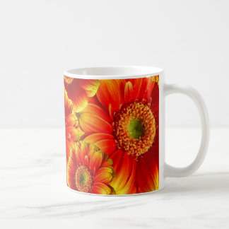 Yellow and Orange Gerbera Daisies Coffee Mug