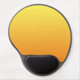 """Yellow And Orange Ombre"" Gel Mouse Mat"
