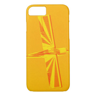 Yellow and Orange Plane Barely There iPhone 7 Case