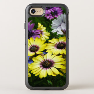 Yellow and Purple African Daisies OtterBox Symmetry iPhone 8/7 Case