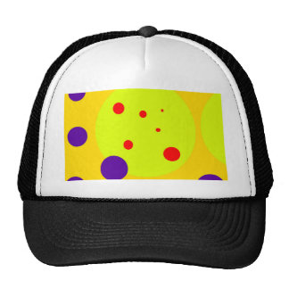Yellow and purple design by Moma Cap