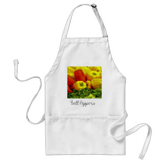 Yellow and Red Bell Peppers Standard Apron