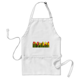 Yellow and Red Tulips Standard Apron