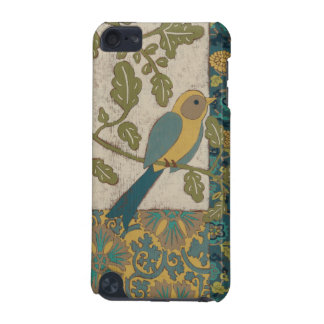 Yellow and Teal Blue Bird Perched on a  Branch iPod Touch 5G Covers