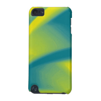Yellow and Teal Swirl iPod Touch 5G Case