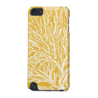 Yellow and White Coral iPod Touch 5G Case