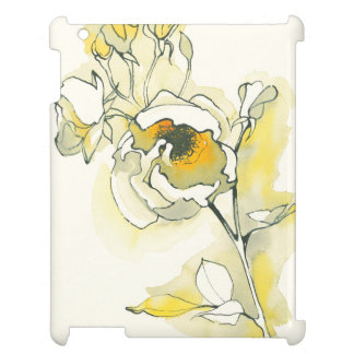 Yellow and White Roses iPad Cases