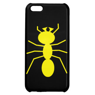 Yellow Ant Silhouette Cover For iPhone 5C