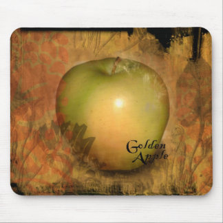 Yellow Apple Mouse Mat