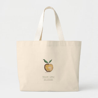 yellow apple, tony fernandes bags
