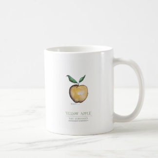 yellow apple, tony fernandes coffee mug
