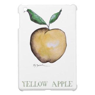 yellow apple, tony fernandes iPad mini covers