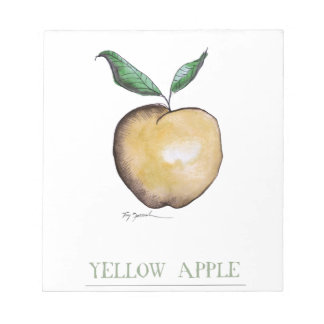 yellow apple, tony fernandes notepad