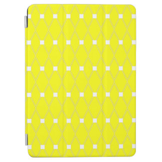 Yellow Argyle Lattice iPad Air Cover