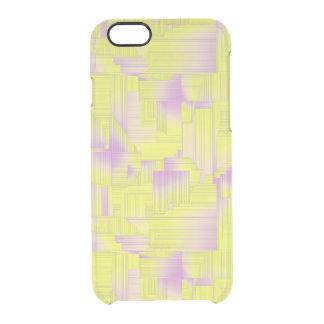 Yellow Art Deco iPhone 6 Plus Case