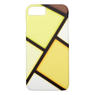 Yellow art design iPhone 7 case
