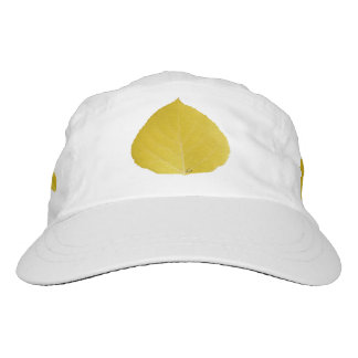 Yellow Aspen Leaf #5 Hat