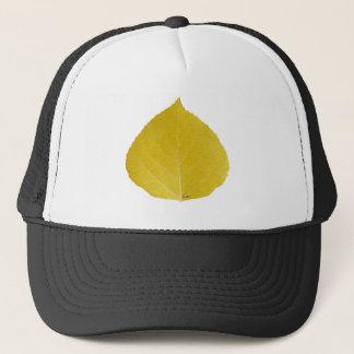 Yellow Aspen Leaf #5 Trucker Hat