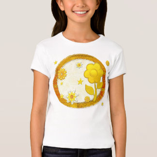 Yellow at Play Jeweled TWEEN TEEN T-Shirt