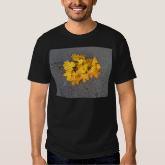 YELLOW AUTUMN LEAVES BRANCH TEES