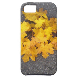 YELLOW AUTUMN LEAVES BRANCH TOUGH iPhone 5 CASE