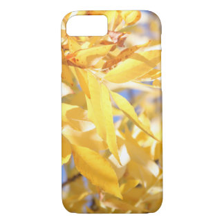 Yellow Autumn Leaves iPhone 7 Case