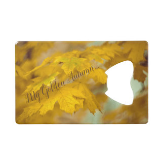 Yellow autumn maple leaves. Add you text.