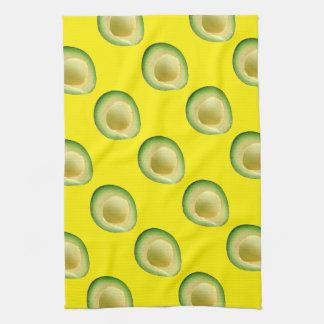 Yellow Avocados 4Kiki Tea Towel