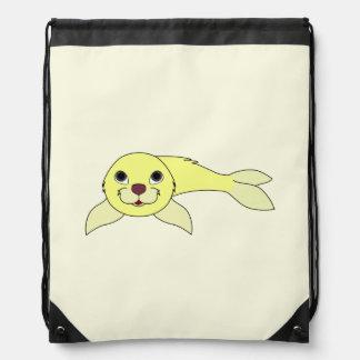 Yellow Baby Seal Rucksacks