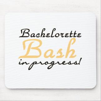 Yellow Bachelorette Bash Mouse Pad