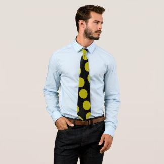 Yellow balls tie
