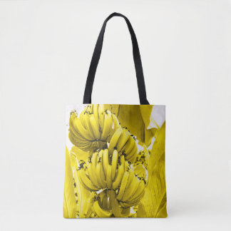Yellow Bananas Tote Bag