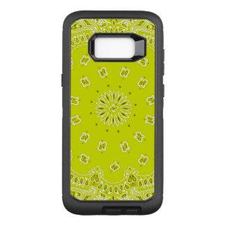 Yellow bandana Samsung S8 Otterbox Case