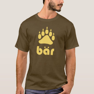 Yellow Bär Bärtatze T-Shirt