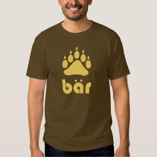 Yellow Bär Bärtatze Tshirt