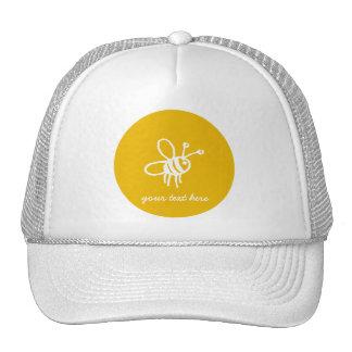 Yellow Bee Cap