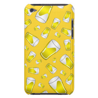 Yellow beer iPod touch cover