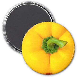 Yellow Bell Pepper Refrigerator Magnet