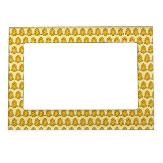Yellow Bell Sugar Cookie Merry Christmas Holiday Magnetic Frame