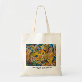 Yellow Bellied Hoot and the Angry Horse Tote Bag